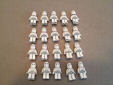 LEGO Snow Trooper Lot of 20 Star Wars Minifigure minifig Huge LOT Clone F397