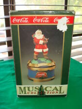 1993 Coca Cola Santa Claus Music Box I'd Like to Teach the World to Sing