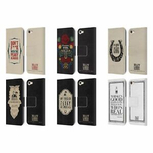 PEAKY BLINDERS TYPOGRAPHY LEATHER BOOK WALLET CASE FOR APPLE iPOD TOUCH MP3
