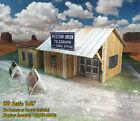 HO Scale 1:87 Shanty Building - Pre-Cut & Pre-Scored CARDSTOCK PAPER kit WSP1