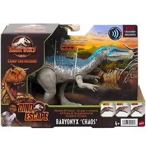 Jurassic World Roar Attack Baryonyx Chaos Dino Escape Dinosaur Toy
