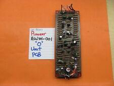 """PIONEER AWM-001 """"O"""" UNIT PCB QX-8000 QUAD STEREO RECEIVER"""
