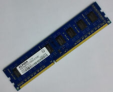 ELPIDA 4GB 2Rx8 PC3-10600U-9-10-B1 DDR3 1333 Desktop RAM EBJ41UF8BCF0-DJ-F