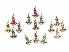 Dance Indian Body Sticker Bindi Jewelry Large Pack Tribal Rainbow Bindis Belly