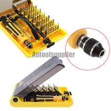 45 in 1 Repair Tools kit Micro Precision Torx Screwdriver Cell Phone Set Tweezer