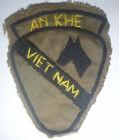HAND SEWN PATCH - AN KHE - LZ DIAMONDHEAD - US 1st CAVALRY - VIETNAM WAR - 9928