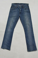 LEVIS MENS VINTAGE FADED JEANS DENIM BLUE 80s RED TAB BOOTCUT COTTON W32 L34