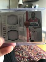 JOHN WALL 2015 - 16 PANINI MOMENTOUS FLAWLESS AUTO PATCH #'d 5/25