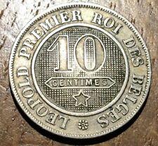 PIECE DE 10 CENTIMES BELGIQUE 1861 (274) LÉOPOLD PREMIER