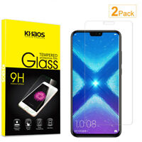 2-Pack Khaos For Huawei Honor 8X Tempered Glass Screen Protector