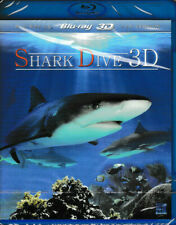 Shark Dive Blray - 3D & 2D - Brand New & Sealed