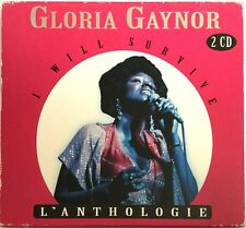 GLORIA GAYNOR : I WILL SURVIVE - L'ANTHOLOGIE - [ DOUBLE CD ALBUM ]