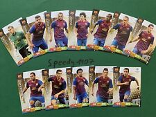 Panini Champions League 2011 2012 all 12 Barcelona Puyol complete Match Attax