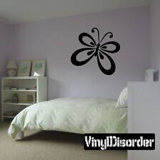 Butterfly Animal Wall Quote Mural Decal -cp027