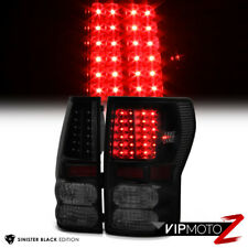 "For 07-13 Toyota Tundra ""TRD STYLE"" Sinister Black Rear LED Brake Tail Lights"