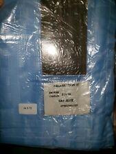 CELEBRATIONS IV SKY BLUE Shower Curtain Fabric Decor 34x72 #WC55