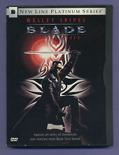Blade (DVD, 1998, Platinum Edition) Widescreen Special Features New Line Cinema