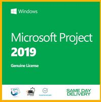 Project 2019 Professional Product Key Activation License Fast Delivery
