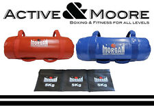 MORGAN 25KG & 15KG SAND BAGS WEIGHTS CROSSFIT STRENGTH TRAINING PERSONAL TRAINER