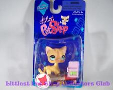 Littlest Pet Shop Single Fanciest Short Hair SIAMESE CAT #886 Rare Retired NIB