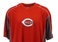 Cincinnati Reds Men's MLB Majestic V-Neck Jersey T-Shirt Big & Tall Sizes, nwt