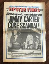 YIPSTER TIMES March 1976 Underground Counterculture News Protest Drug Culture