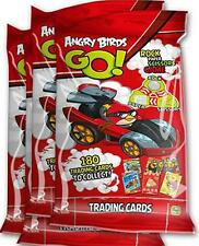60 Packs x NEW Angry Birds Go Trading Cards Party Lucky Loot Toys Bag Pinata