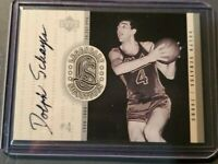 1999-00 Upper Deck NBA Legends Legendary Signatures Dolph Schayes #DS Auto HOF