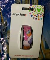 Disney Parks DAISY DUCK CLASSIC BOW Pink Magic Band Magicband 2 New