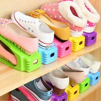 Creative Shoes Rack Organizer Space Saving Storage Adjustable Portable 9 Colors