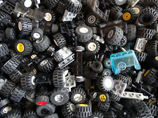 Lego Wheels Pack 2 Sets of Wheels ( 8 Tyres 8 Wheels & 4 Axles)