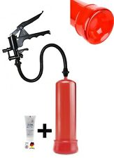 Potenzpumpe Penispumpe Vakuumpumpe 012 FirePumpSE ROT 1 x Gel kolo Scherengriff