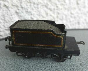 Alter großer Tender Spur 0 Blechspielzeug Blecheisenbahn