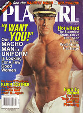 PLAYGIRL 7-01 JULY 2001 KEVIN COSTNER HAIRY NAVY MELUSO NUDE CELEBS BIG HOLLYWOO