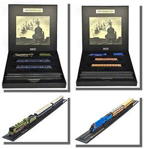 Train Bleu + Mallard World Record Train, 2 Great Trains Set  Z guage 1/220 scale