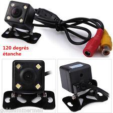 LCD écran Moniteur Voiture Caméra de Recul 120 degrés Vue Nocturne Étanche IP67