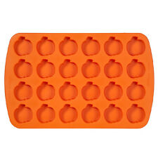 Wilton Baking Halloween Spooky Silicone Bite Size Pumpkin Treat Candy Cake Mold