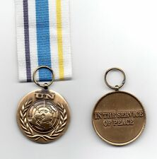 UNITED NATIONS MEDAL FOR UN CIVILIAN POLICE SUPPORT GROUP - A SUPERB MINIATURE