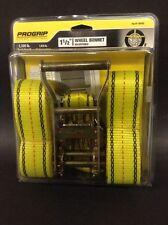 """NEW- ProGrip 18900 -  1-1/2"""" Adjustable Wheel Bonnet w/ Ratchet and Snap Hooks"""