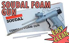 SOUDAL professionnelle compacte mousse en expansion PU pistolet applicateur gun grade