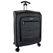 "Silverwood 26"" Medium Softside Expandable Spinner Luggage Suitcase Checked Bag"