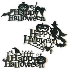 3pcs/set Happy Halloween Metal Cutting Dies Stencil Scrapbooking DIY Album Stamp