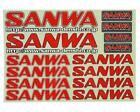 Sanwa/Airtronics Decal Sheet [SNW107A90533A]