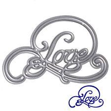LOVE Cutting Dies Stencil Scrapbooking DIY Album Paper Card Embossing Craft