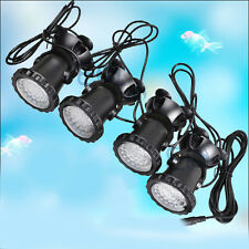 4 x 36 LED Aquarium Unterwasser Strahler Teichbeleuchtung Garten Lampe Teich