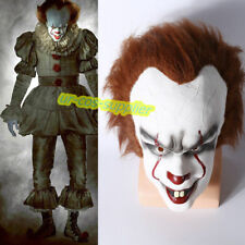 Movie Stephen King's It Clown Pennywise Mens Halloween Horrible Cosplay Mask