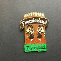 DLR - Lands Series 2007 - Frontierland - Chip 'n Dale Disney Pin 52149