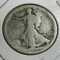 1916-D WALKING LIBERTY SILVER HALF DOLLAR BETTER DATE COIN