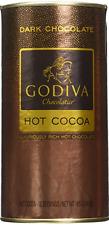 Godiva Dark Chocolate Hot Cocoa Canister, 10 Servings