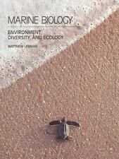 Marine Biology: Environment, Diversity, and Ecology